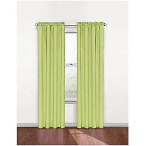 Kids Green Polka Dot Energy Smart Thermal Back Curtain Panel 42X 84in ...