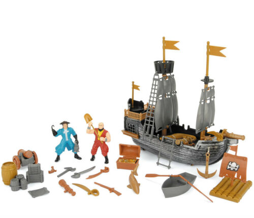 Pirate Toys For Boys : Kids pirate ship with accessories pirates childrens