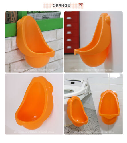 Kid's Potty Urinal Toilet training for boys pee [Made in Korea]_Orange in Baby, Potty Training | eBay