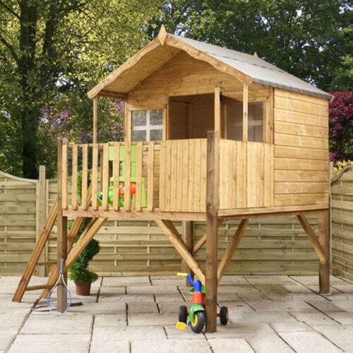 Wooden Tower Playhouse