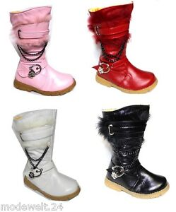 Kinder-Stiefel-Winterstiefel-Designer-Winter-Stiefel-Boots-Schuhe-Kinderstiefel