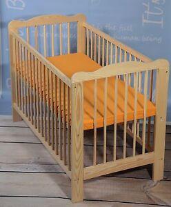 kinderbett babybett gitterbett matratze massivholz mit. Black Bedroom Furniture Sets. Home Design Ideas