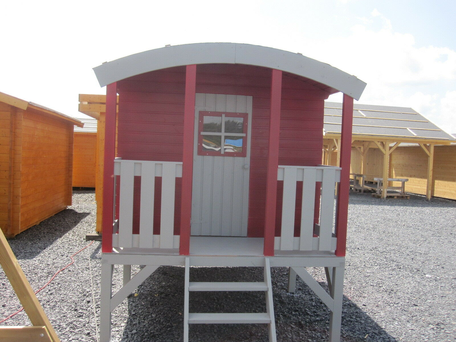 Kinderhaus tobi runddach bauwagen zirkuswagen gartenhaus - Bauwagen als gartenhaus ...
