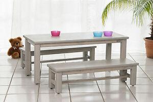 kindersitzgruppe tisch 2x bank garten kinderm bel holz. Black Bedroom Furniture Sets. Home Design Ideas
