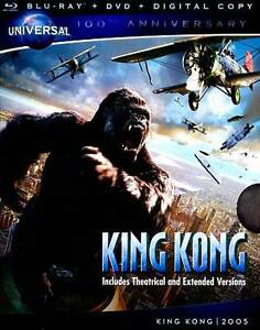 King Kong (Blu-ray/DVD, 2012, 2-Disc Set...