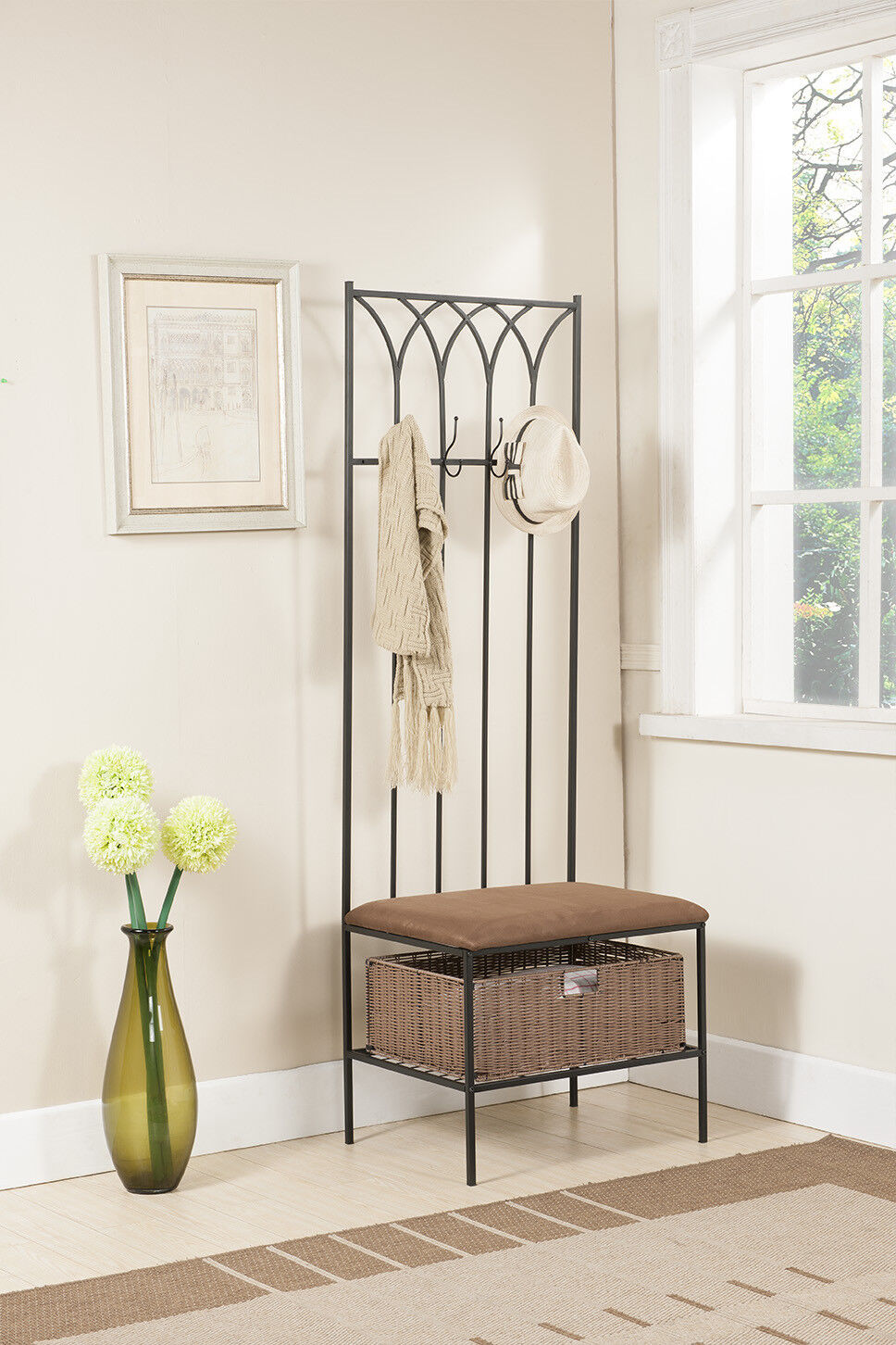 Image Result For Entryway Bench And Coat Rack