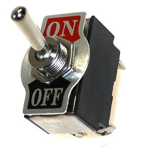 Kippschalter-Wippschalter-Kfz-Schalter-Ein-Aus-250V-10A-Einfach-Rastend-Switch