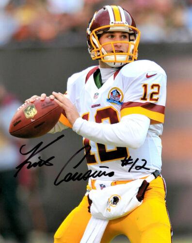 Kirk Cousins Reprinted signed football photo Michigan State Washington Redksins in Sports Mem, Cards & Fan Shop, Autographs-Reprints | eBay