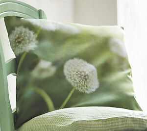 kissenh lle kissen pusteblume fly 40x40 50x50 gr n proflax sommer zierkissen ebay. Black Bedroom Furniture Sets. Home Design Ideas