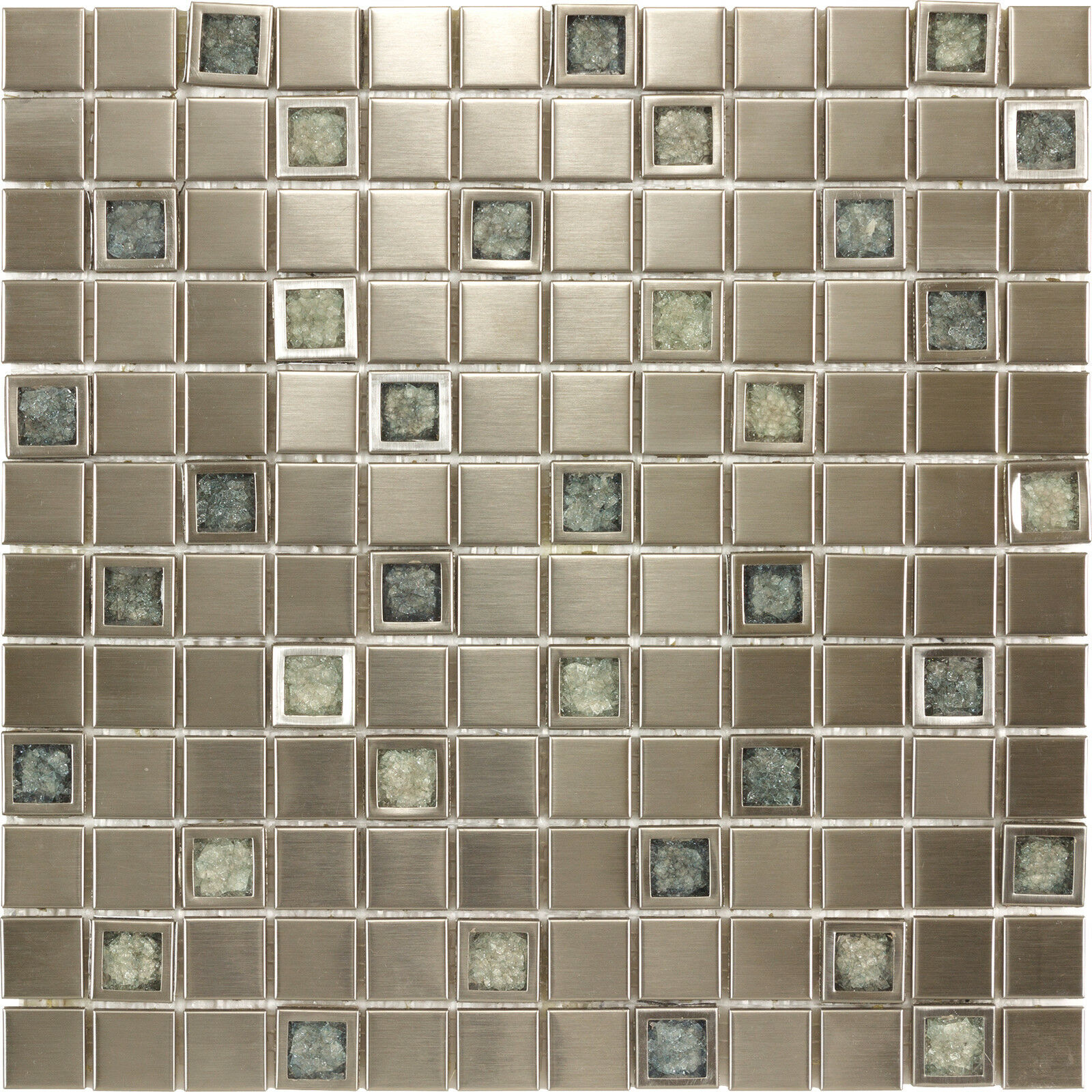 Glass Tiles In Bathroom: Kitchen Bathroom Aluminium Ceramic Inlaid With Blue