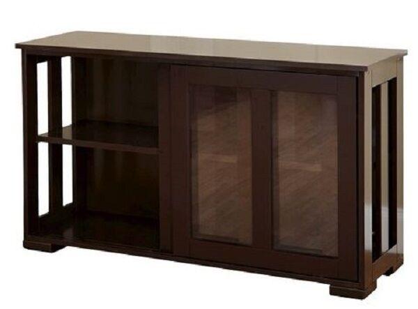 Sliding Glass Doors Buffet ~ Stackable sliding door cabinet buffet storage furniture