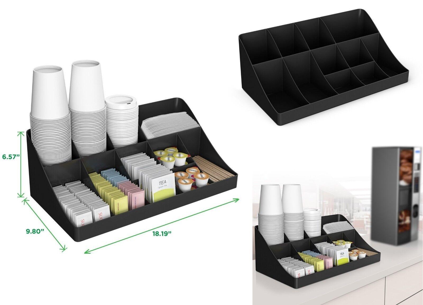 Kitchen Storage Organizer Coffee Condiment Holder Caddy