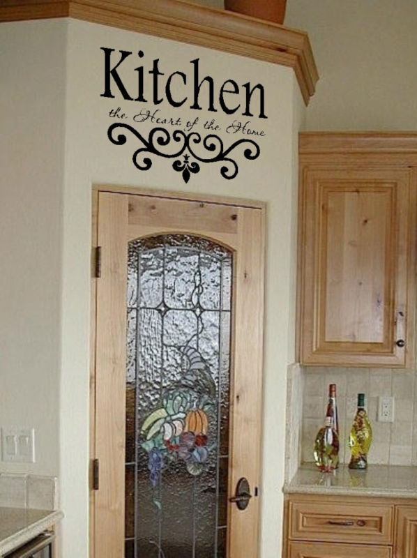 kitchen wall decor sayings