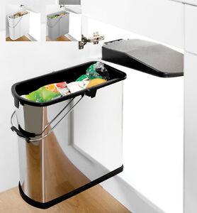 Kitchen waste bins slimline bins from wesco ebay - Slimline waste bin ...