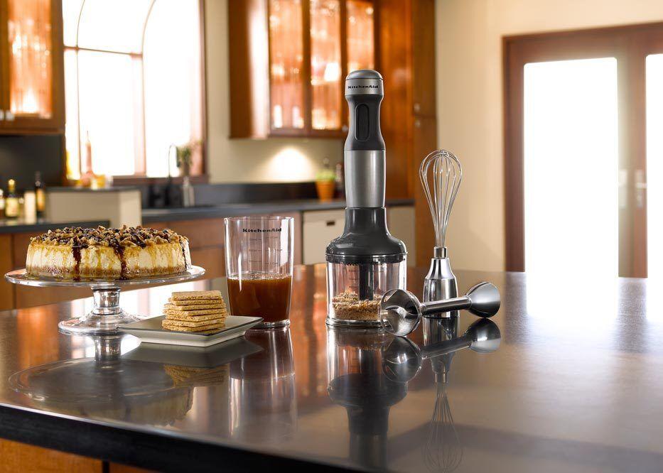 Kitchenaid Khb2351cu 3 Speed Hand Blender kitchenaid 3-speed immersion hand blender khb2351cu silver blend