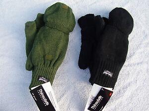 Klapphandschuhe-Handschuhe-Fingerlinge-Faeustlinge-Jagd-Schiesshandschuhe-neu