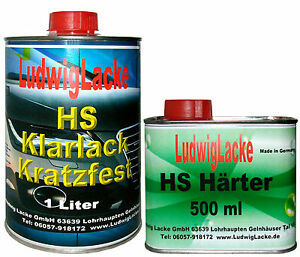 Klarlack-1-5-Liter-HS-2K-Klarlack-SET-fuer-Autolack-Lackierer