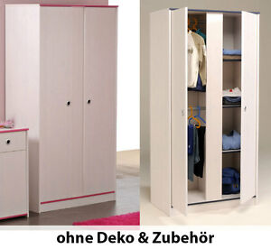 kleiderschrank smoozy 2 trg viel stauraum im kinder. Black Bedroom Furniture Sets. Home Design Ideas