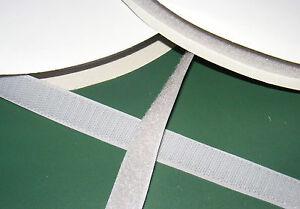 klettband haken und flauschband 20mm breit in grau zum aufn hen ebay. Black Bedroom Furniture Sets. Home Design Ideas