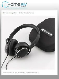 Klipsch-Image-One-Headphones-Case-works-with-iPhone-iPod-3-3G-3GS-4-4S-OPENBOX