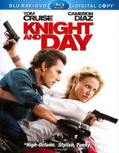 Knight and Day (Blu-ray/DVD, 2010, 3-Dis...