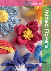 Knitted Flowers by Susie Johns (Paperbac...