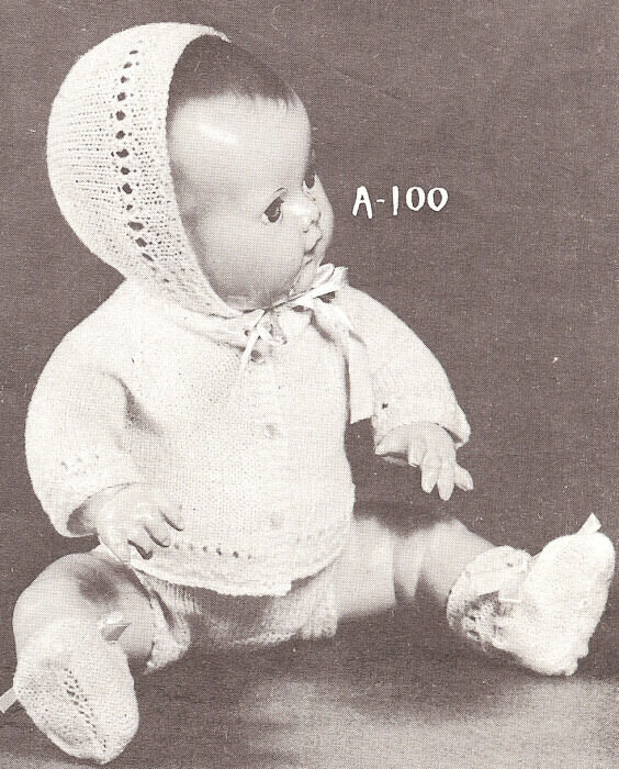 Wool Works knitting patterns: dolls and doll clothes