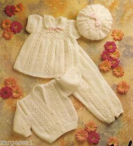 Free Knitting Pattern - Petite Fleur Baby Beret from the Baby hats