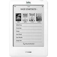 Kobo eReader Touch 2GB, WLAN, 15,2 cm (6...