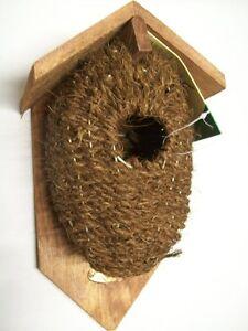 kokos nestbeutel nistkasten zaunk nigkugel nisttasche. Black Bedroom Furniture Sets. Home Design Ideas