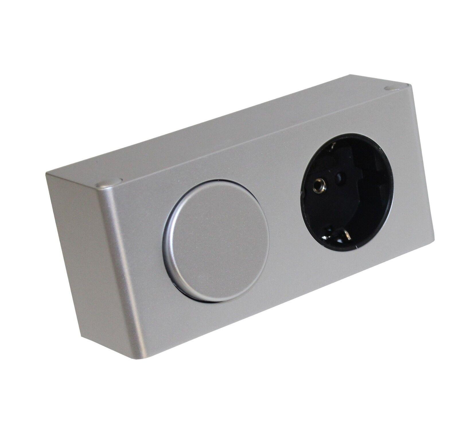 kombi box 230v mit schalter steckdose spiegelschrank m belbeleuchtung mod 4188 ebay. Black Bedroom Furniture Sets. Home Design Ideas