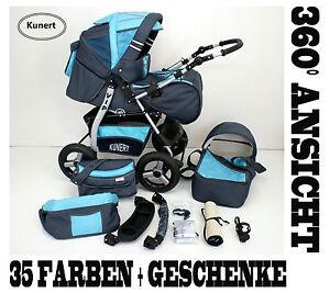 Kombi-Kinderwagen-Kinderwagen-VIP-Geschenke-Lieferbar-in-35-Farben