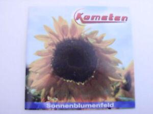 Kometen – Sonnenblumenfeld - Deutschland - Kometen – Sonnenblumenfeld - Deutschland