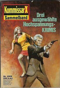 KommisarX - Sammelband Nr. 226 enthält Nr. 1246, 1247 u. 1248 Clan des Satans... - Deutschland - KommisarX - Sammelband Nr. 226 enthält Nr. 1246, 1247 u. 1248 Clan des Satans... - Deutschland