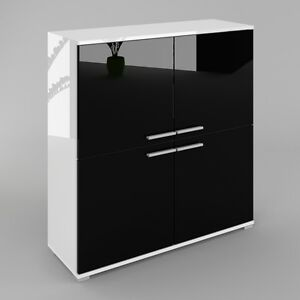 kommode sideboard anrichte konsole schrank cosmo in wei. Black Bedroom Furniture Sets. Home Design Ideas