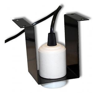 ceramic light fixture vivarium reptile lamp holder es heat lamp fixing. Black Bedroom Furniture Sets. Home Design Ideas