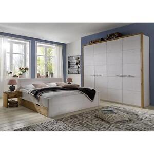 details zu komplettes schlafzimmer komplett 4 tlg kiefer massiv holz - Komplett Schlafzimmer Massiv