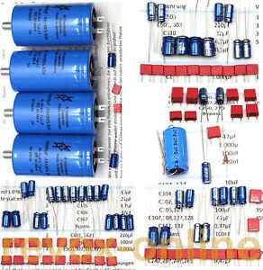Kondensatorsatz-fuer-alle-Revox-A50-A78-Verstaerker-mit-Ladeelko-10-000-F
