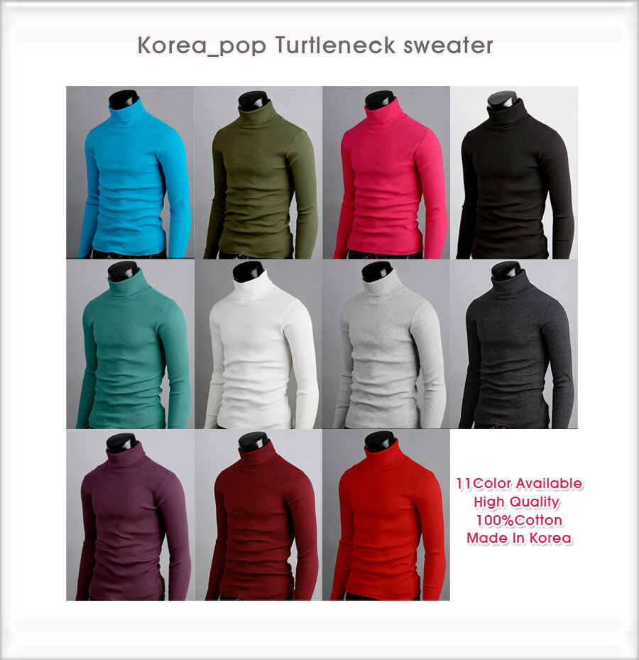 mens-thermal-cotton-turtle-polo-neck-skivvy-turtleneck-sweater-stretch-shirts