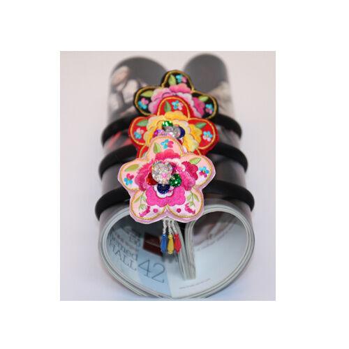 Korean tranditional Clothes HANBOK Hairband Daenggi Pigtail Dress Baby Girl Kids