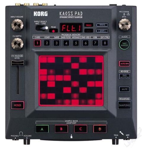Korg KP3 Kaoss Pad 3 Effects Unit Sampler DJ Beats NEW in Musical Instruments & Gear, Electronic Instruments, Synthesizers | eBay