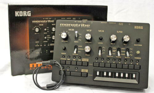 Korg MONOTRIBE 4-Part Analog Ribbon Synthesizer with Step Sequencer in Musical Instruments & Gear, Electronic Instruments, Synthesizers | eBay