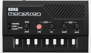Korg Monotron Synthesizer in Musical Instruments & Gear, Electronic Instruments, Synthesizers | eBay