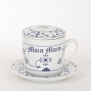 kr uter tee tasse tee set porzellan indisch blau strohblume moin ebay. Black Bedroom Furniture Sets. Home Design Ideas