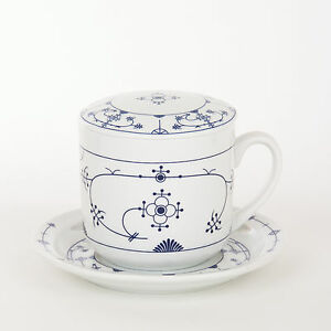 kr uter tee tasse tee set porzellan indisch blau strohblume neutral ebay. Black Bedroom Furniture Sets. Home Design Ideas