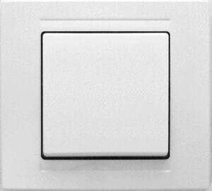 kreuzschalter lichtschalter steckdose lautsprecherdose mit steckverbindung neu ebay. Black Bedroom Furniture Sets. Home Design Ideas
