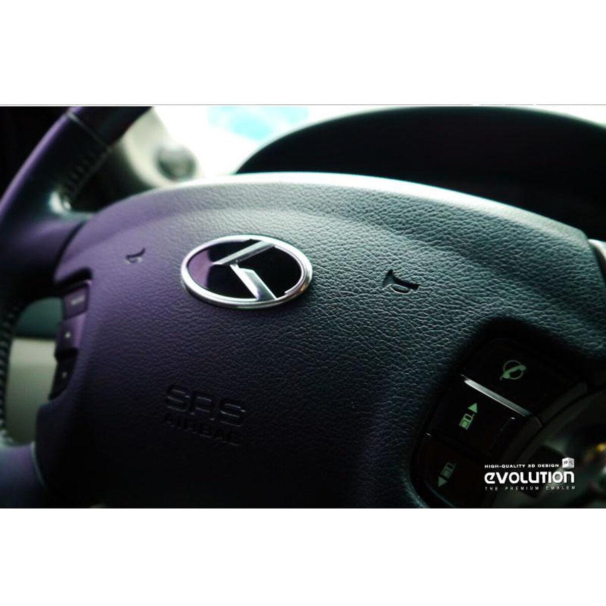 Kspeed Kia Optima K5 K Logo Steering Wheel Horn Center Cap Emblem