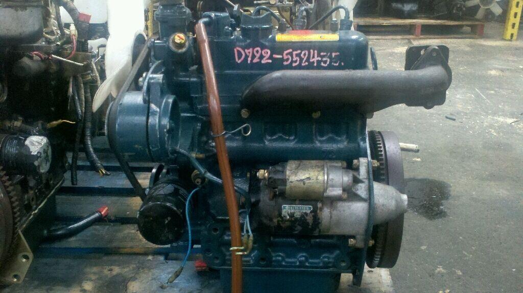 Kubota Diesel Engine D722 20HP Mower Tractor Excavator