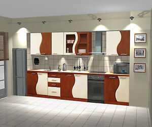 k che k chenzeile k chenblock birne vanille 260 cm neu ebay. Black Bedroom Furniture Sets. Home Design Ideas