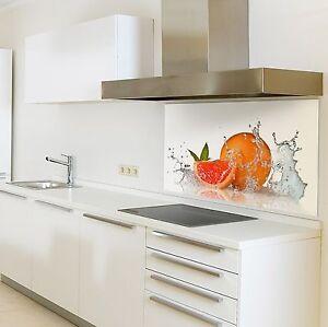 k chenr ckwand aus glas motiv orange spritzschutzwand. Black Bedroom Furniture Sets. Home Design Ideas